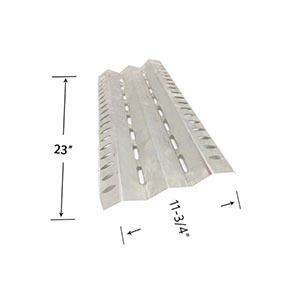 Broil-Mate 1155-54, 1155-57, 115554, 115557, 115784, 115787, 115994, 115997, 1551-54, Stainless Heat Shield