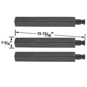 3 Pack Replacement Cast-Iron Grill Burner for Charbroil, Glen Canyon, Jenn-Air, Nexgrill, Virco 720-0032 and Thermos 461252705 Gas Models