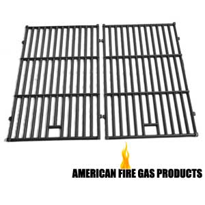 Matte Cast-Iron Cooking Grids For Weber Genesis E-310, EP-310, E-320, EP-320, S-310, S-320, 3741001, 3751001, 3841001 Gas Models